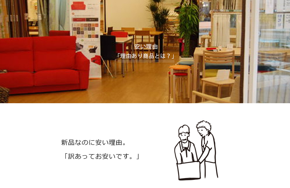 Outlet ismが安い理由。